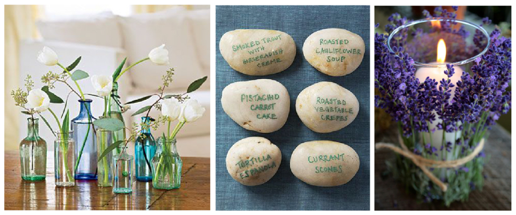 couple of simple wedding favour ideas to add a sweet little touch to