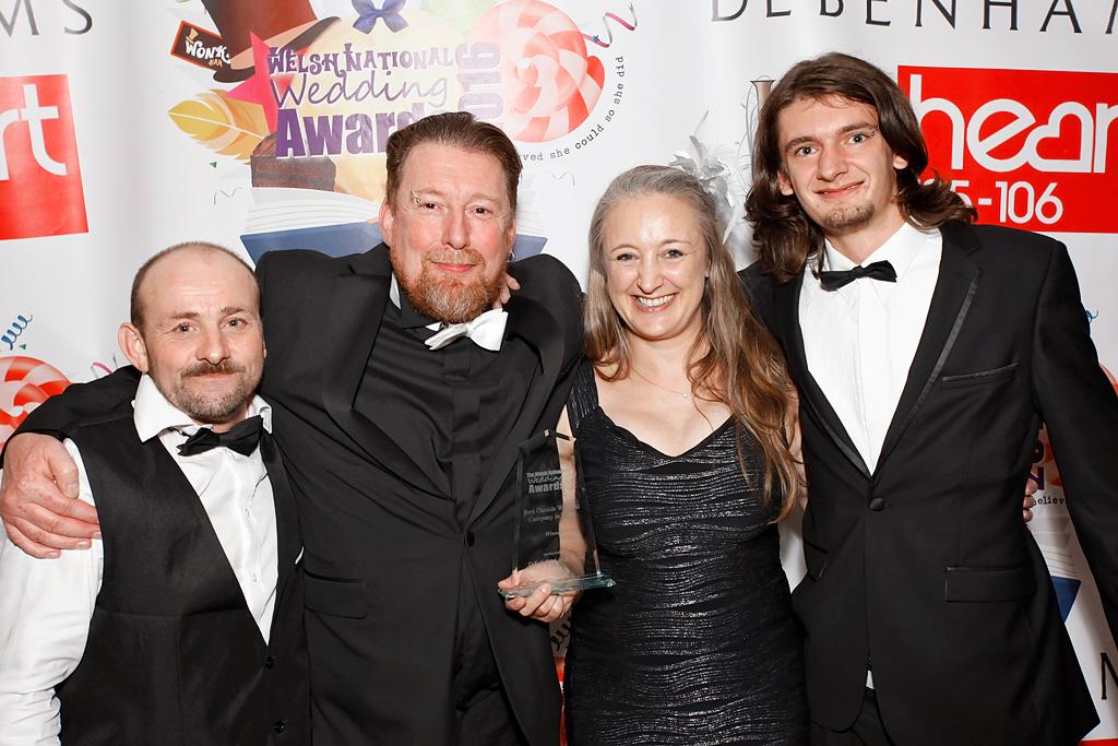 Cheesy, Andy, Hannah & Macs