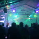 Rigdiculous dance tent at Cardigan Festival