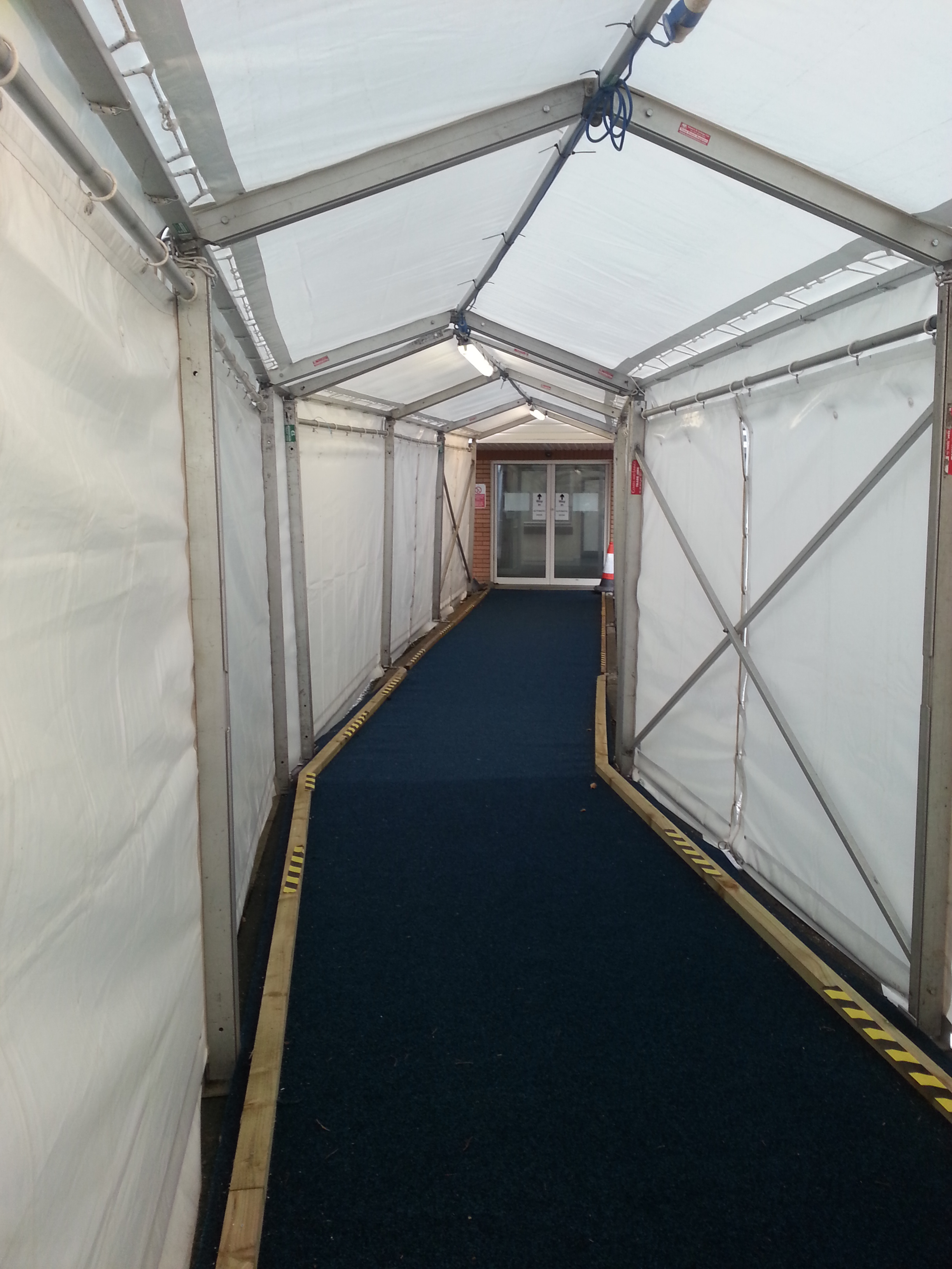 Temporary Walkway Install 24 Carrot Events