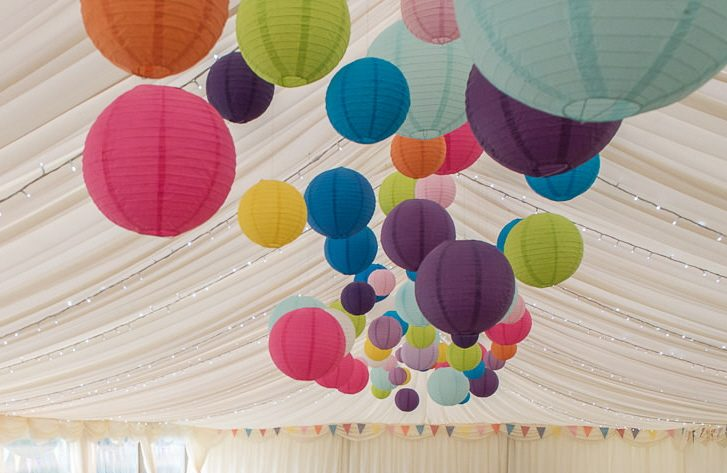 Hanging Paper Lanterns