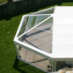 hexagonal marquee