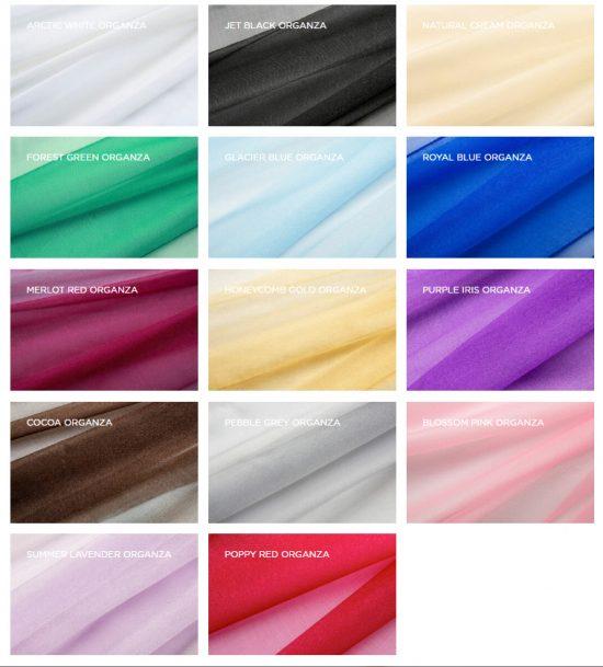 Organza Colours